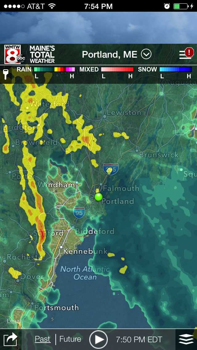 As storms approach you can track them right down to your location using Interactive Radar.