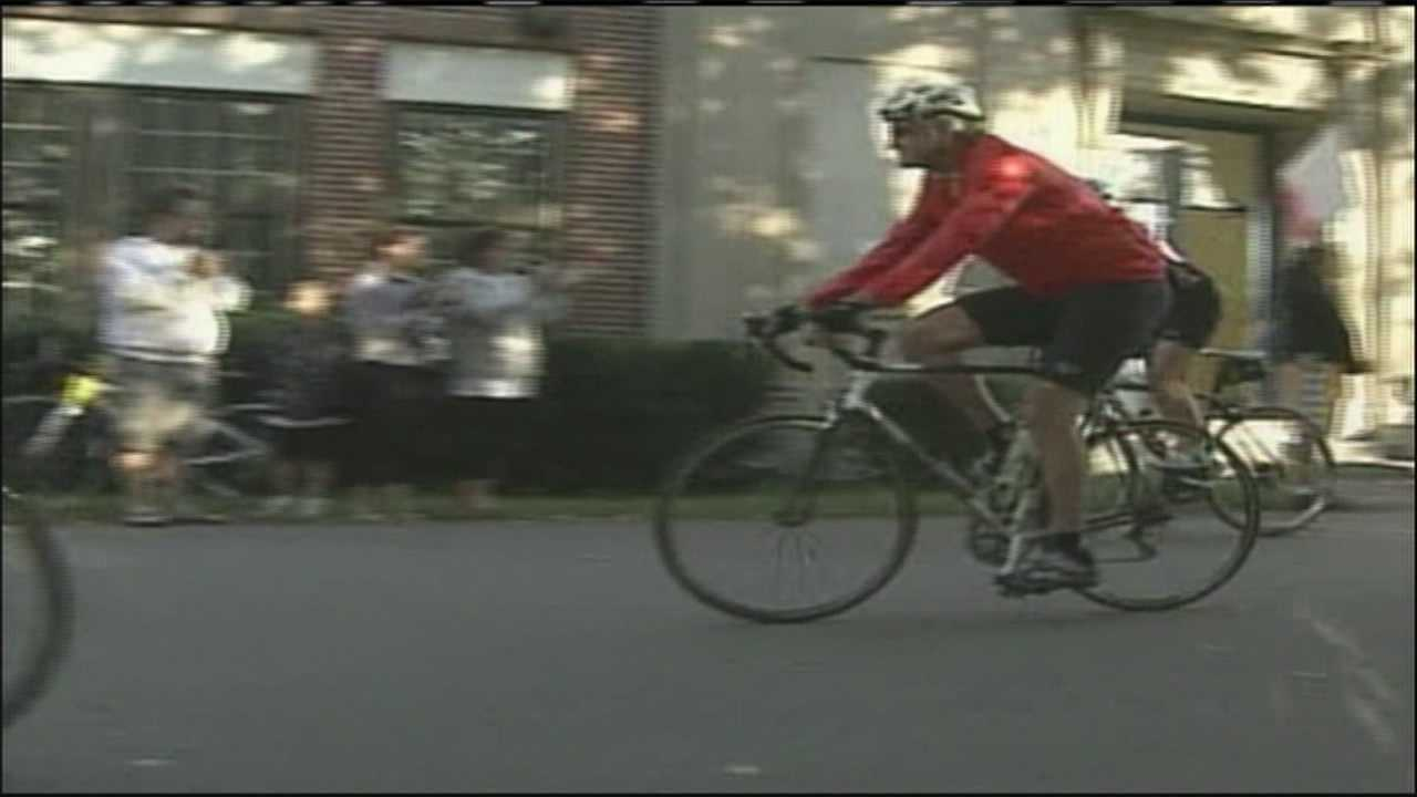 The New England Parkinson's Ride is one of the largest fundraisers in the fight against Parkinson's and it is right here in Southern Maine. WMTW News 8's Kyle Jones has more on this bicycle ride which benefits the Michael J. Fox Foundation for Parkinson's Research.