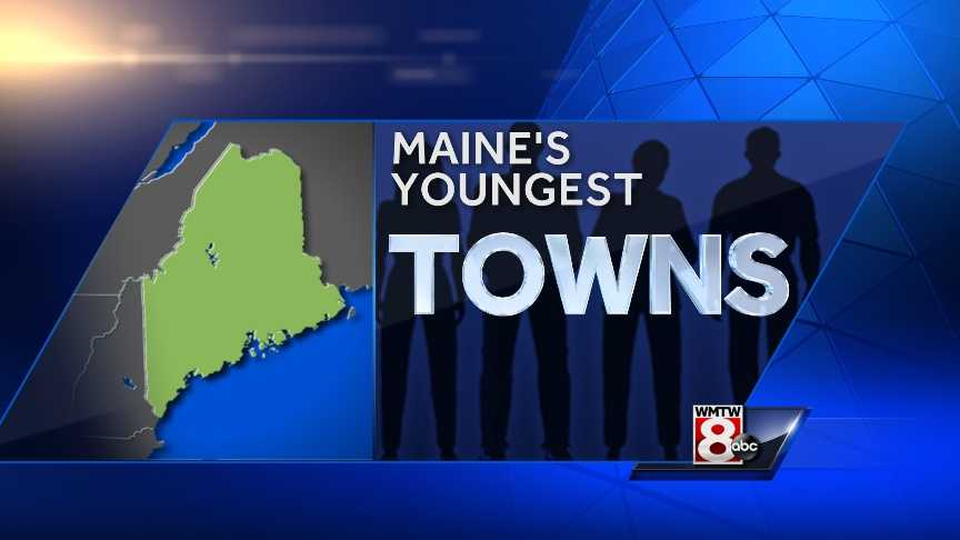 Which Maine town has the youngest median age?  Check out the 30 youngest towns based on the latest estimates from the U.S. Census Bureau. Note: Some towns can have multiple Census Designated Places or CDPs.