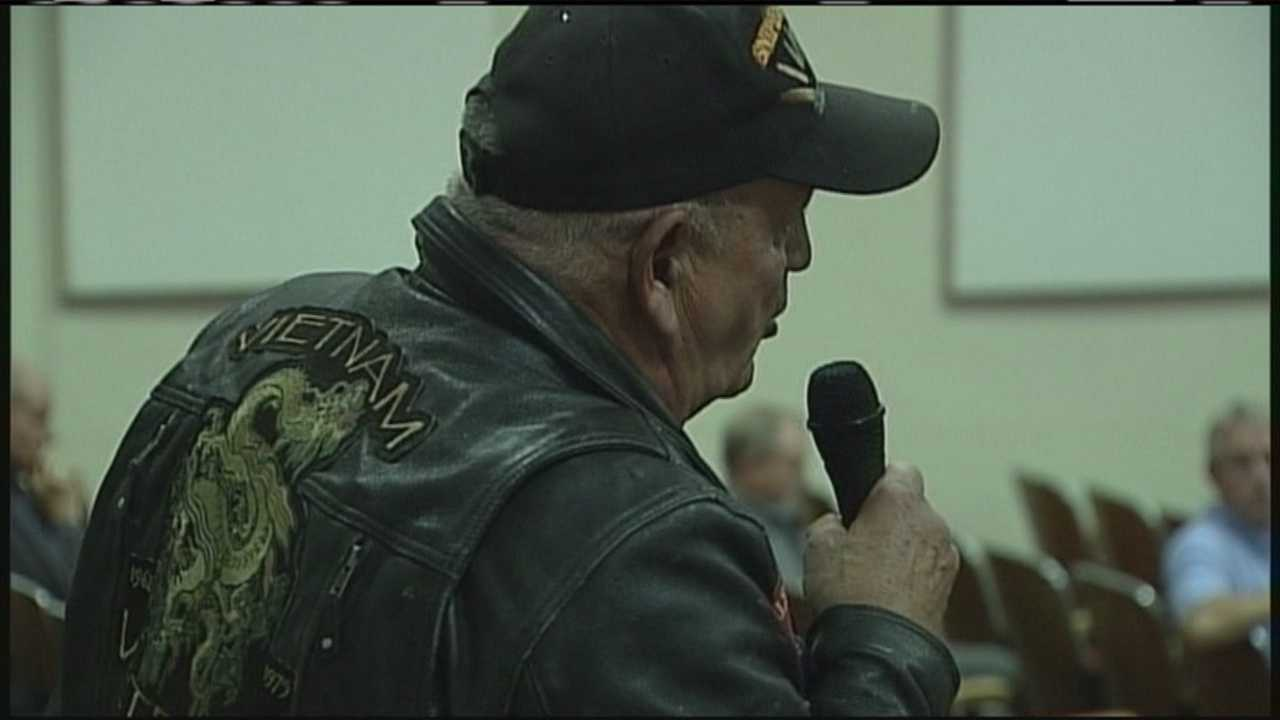 In Augusta, veterans and their families get a chance to voice their concerns about benefits.