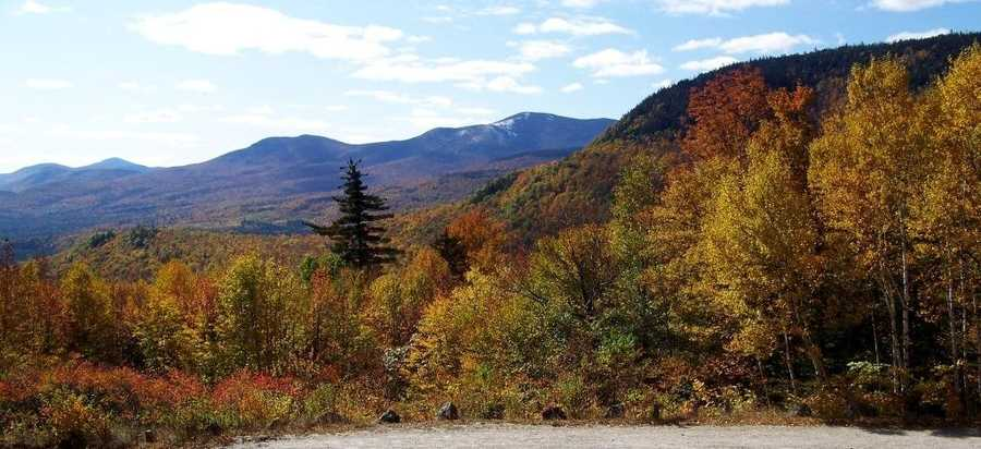 Evan's Notch in the White Mountain National Forrest