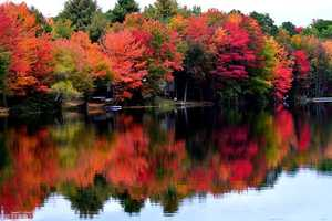 We'll get the most obvious one on the list out of the way. Check out the vibrant fall colors across Maine. What's your favorite spot to see the foliage?
