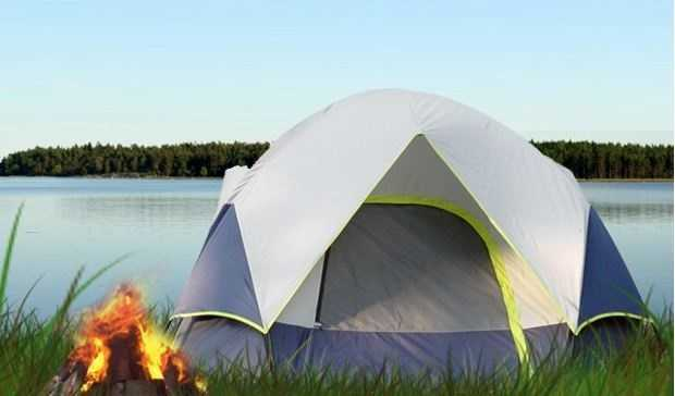 You can enjoy camping well into the fall.