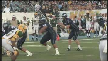 Continuing with football, head up to Orono to cheer on the UMaine Black Bears