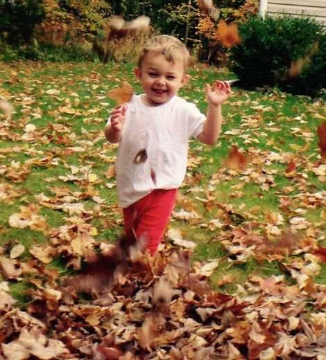 You probably knocked this one off the list as a kid, but who doesn't love playing in the leaves.