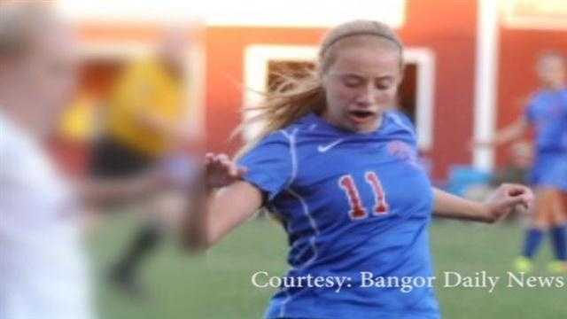 Members of the Messalonskee High School soccer team will play for the first time since the death of their teammate Cassidy Charette in a hayride accident on Sunday.