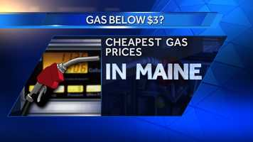 Can't remember the last time gas prices were below $3 per gallon. It's a reality at a few gas stations here in Maine. Check out the cheapest prices according to Mainegasprices.com.
