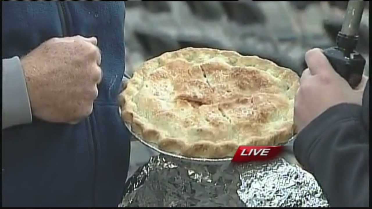 Runners in Portland make their way through 3.14 miles of a road race and then get to enjoy a slice of pie at the end all while raising money for environmental causes. It's all for the Easy as Pi Road and Trail Race. WMTW News 8's Morgan Sturdivant talks with the organizers of the race.