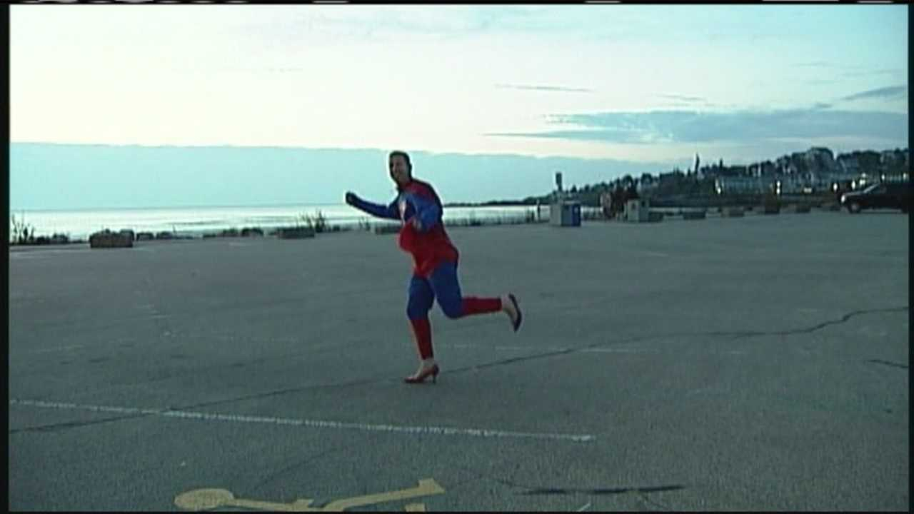 "Ogunquit is celebrating fall with their annual Ogunquit Fest. From great shopping even a unique high-heel dash to test you skills in heels too. WMTW News 8's Morgan Sturdivant spoke with ""Superman"" himself about this great event and the cause it supports."