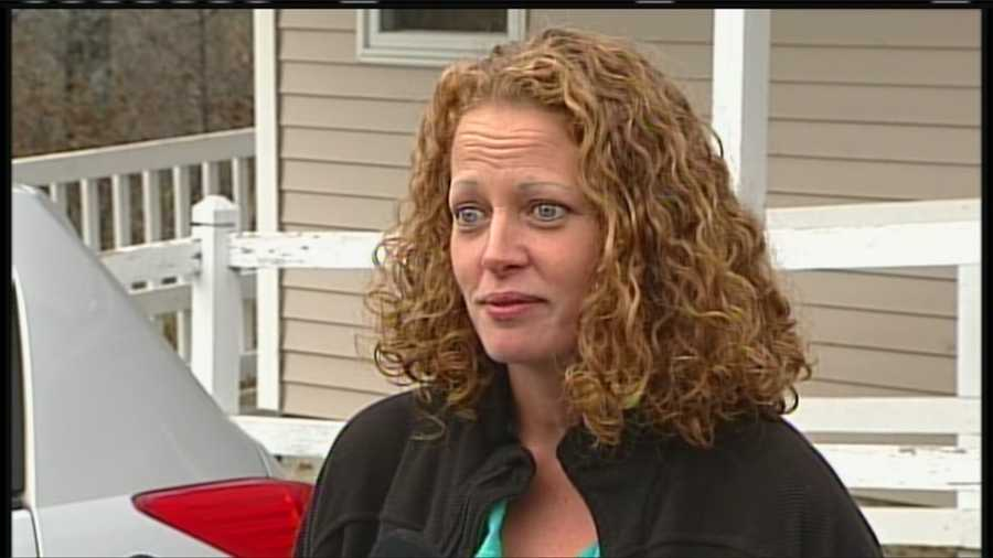 Kaci Hickox spoke to the media Friday afternoon after a judge ruled the state had not met its burden to enforce a quarantine of the nurse who returned from treating Ebola patients in West Africa one week ago.