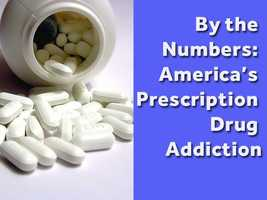 Prescription drug abuse continues to be a growing problem across the country. Take a look at some of the stunning numbers behind our country's addiction to prescription medication, according to Drugabuse.gov.