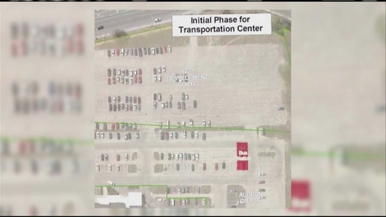 The Auburn City Council has approved a project to built a new transportation center downtown. WMTW News 8's Courtney Sturgeon reports.