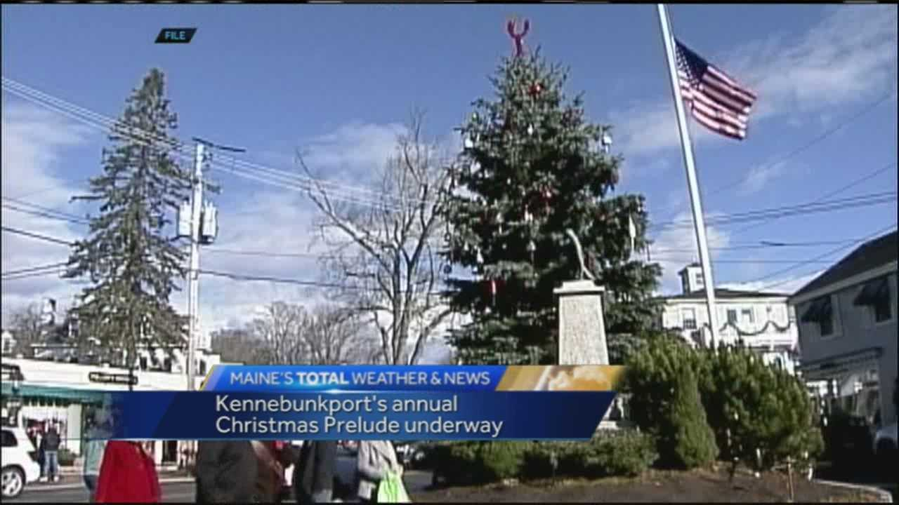 HGTV ranked Kennebunkport the number two Christmas town in American and if you head there this weekend, you can see why. News 8's Morgan Sturdivant has more on the Christmas Prelude which wraps up Sunday.