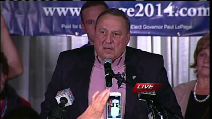 3: Election Day 2014: Gov. Paul LePage won re-election and Mainers rejected a referendum to ban bear baiting. Click here to see election coverage.