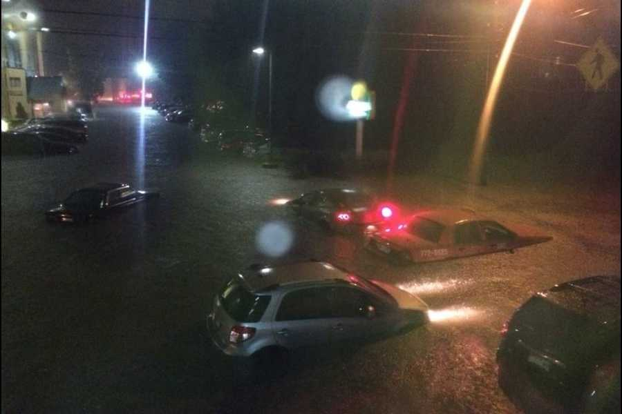 Record rainfall in August, causing serious flooding in the city of Portland. Click here for the story.
