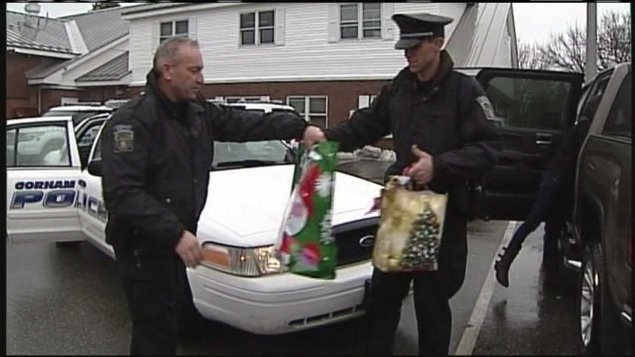 Gorham police team up with Home Instead Senior Care to bring gifts and holiday cheer to seniors