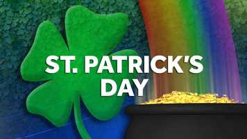March 17: St. Patrick's Day falls on a Tuesday.