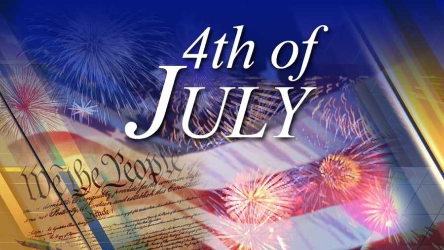 July 4: Independence Day falls on a Saturday.