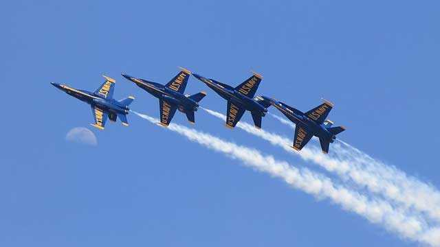 Sept. 5-6: The Great State of Maine Air Show is expected to begin. The Blue Angels are among the scheduled performers.
