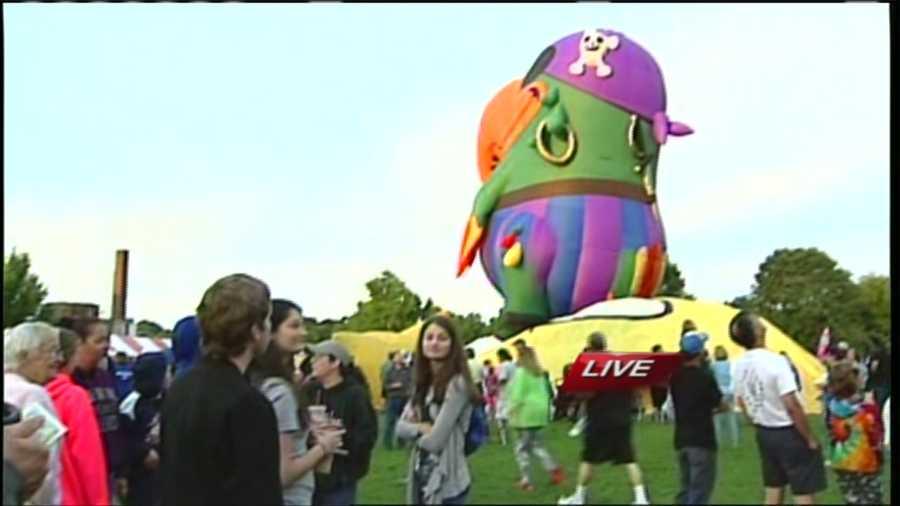 Aug. 21-23: Great Falls Balloon Festival.