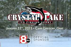 Jan. 31: The Crystal Lake Ice Fishing Derby kicks off in Gray.