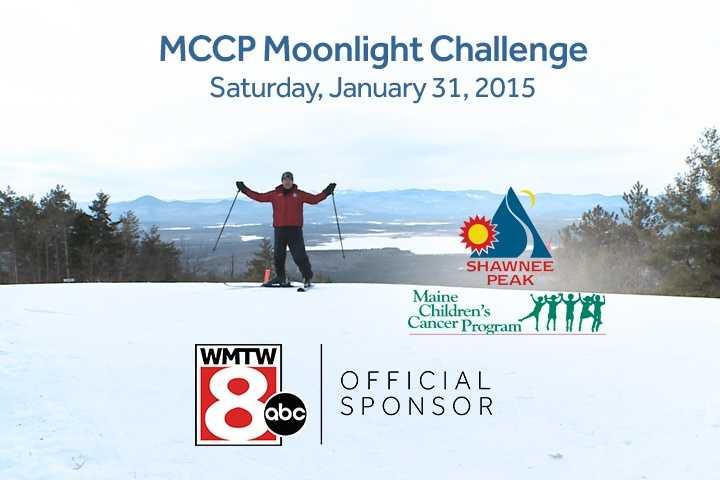 Jan. 31: Maine Children Cancer Program's Moonlight Challenge ski and snowboard fundraiser race at Shawnee Peak.