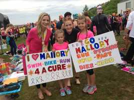 July 26: More than a thousand women compete in the Maine Cancer Foundation's Tri for a Cure.