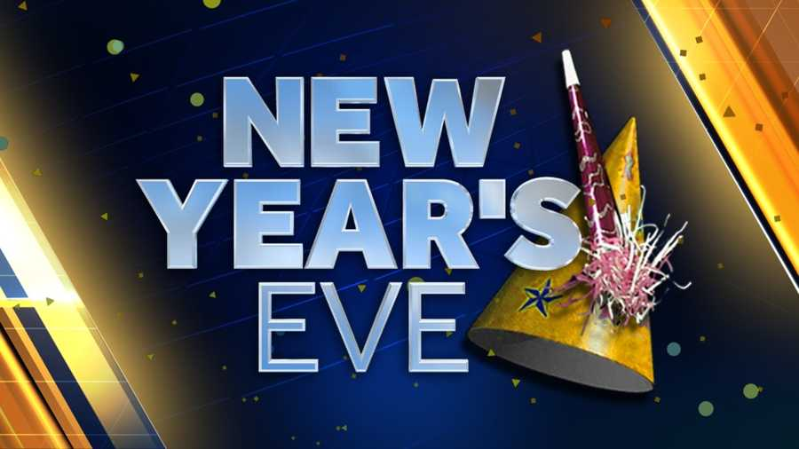 Dec. 31: New Year's Eve 2016 falls on a Thursday.