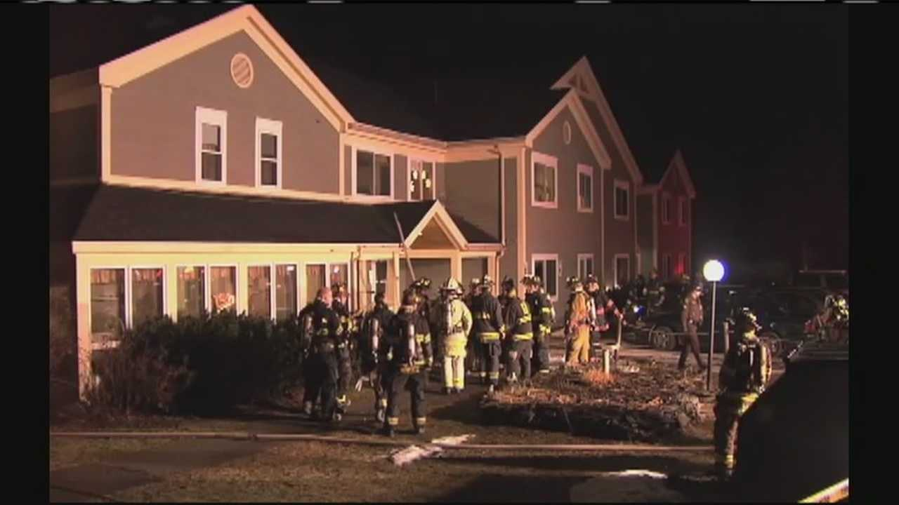 The state fire marshal will be investigating the cause of a Sunday night fire in Holden. Crews were called to Holden Square Apartments just after 9 p.m. One man was taken to the hospital with burn injuries, but they are not critical.