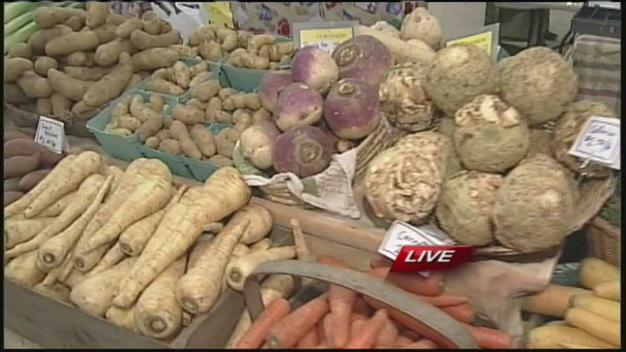 You don't need to wait until summer or late fall to enjoy farm freshness. The winter farmer's market in Brunswick offers fresh produce, baked goods even crafts as well. WMTW News 8's Morgan Sturdivant has more from Brunswick.