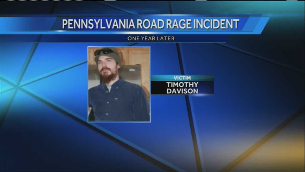 A Poland man killed in an apparent road rage incident was killed one year ago Sunday. WMTW News 8's Norm Karkos has more.