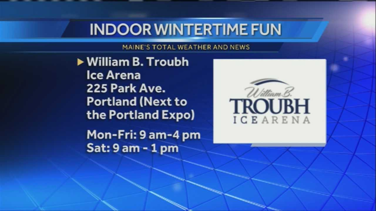 After the cold temperatures of the past week, sometimes you need to take your favorite outdoor activities inside. The William Troubh Ice Arena offers skating and hockey year round. WMTW News 8's Norm Karkos and Katie Thompson talk with the managers of the ice arena about the services the arena offers.