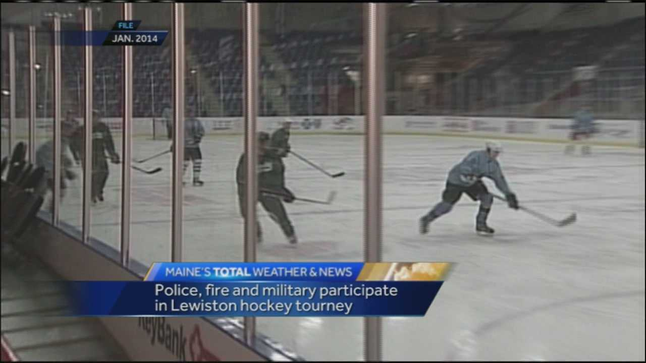 Now in its 5th year, the International Police Fire and Military Winter Games brings hockey teams from across the country and right here in Maine to compete in a hockey tournament to benefit the Shriner's hospital in Boston. WMTW News 8's Morgan Sturdivant has more from Lewiston.