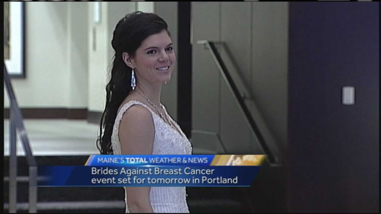A unique event combining wedding gowns and combating cancer will take over the Westin Portland Harborview Hotel on Sunday.
