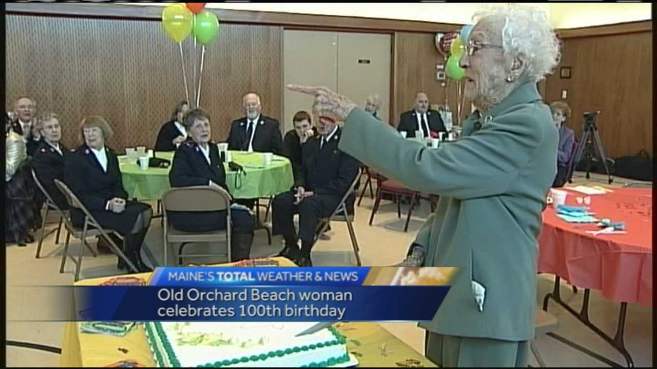 Ruth Sullivan, of Old Orchard Beach, celebrated her 100th birthday on Jan. 25, 2015.