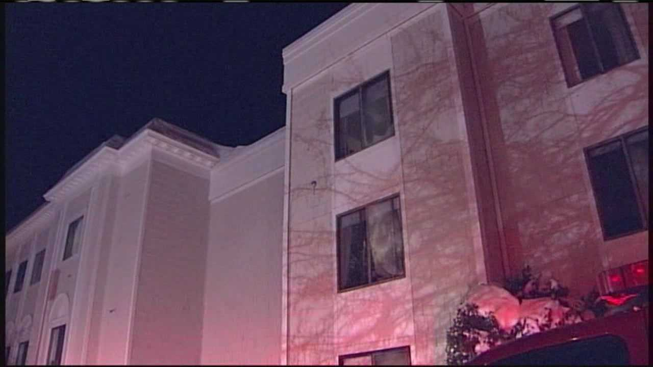 Three people have been hospitalized after a fire at an Old Orchard Beach apartment building early Thursday morning.