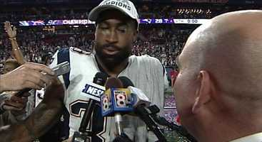 Cornerback Brandon Browner talks to WMTW News 8 Sports Director Travis Lee.