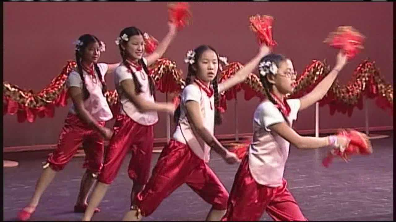 Maine's Chinese community celebrated the new year of the ram at an event Saturday.
