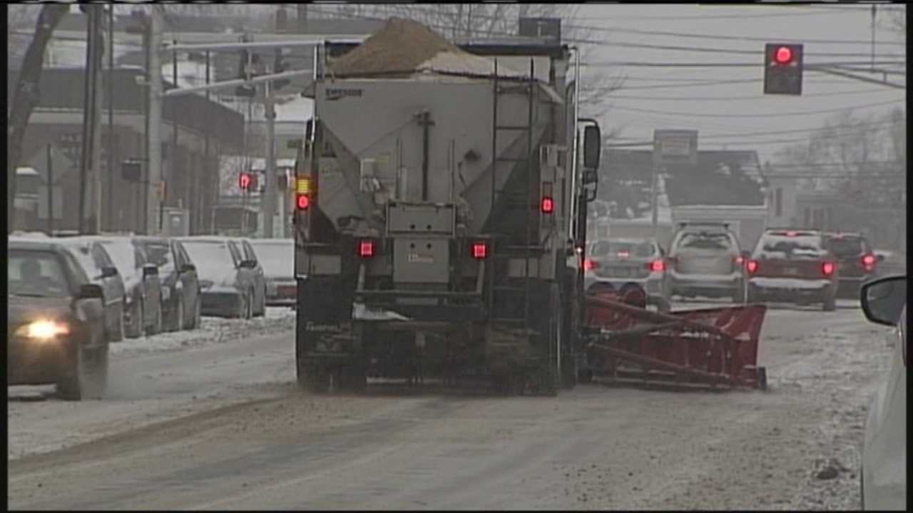 Public works crews in Portland have been working non-stop with all of the recent snow.
