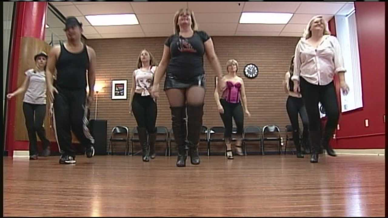 When you hear the word burlesque what do you think of? Chances are sexy dance moves, but it can also be a killer workout. WMTW News 8's Tracy Sabol reports.