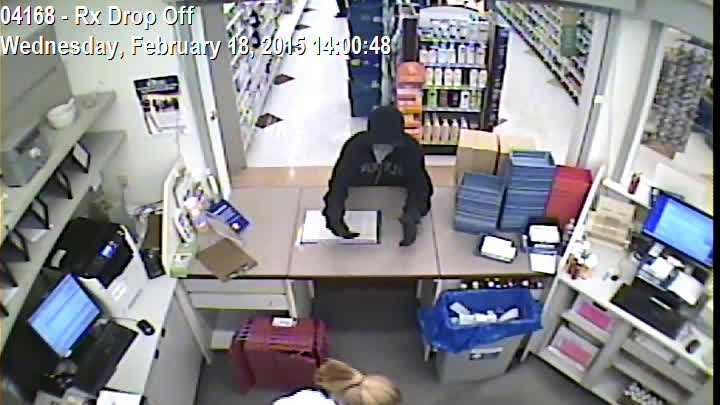 Gardiner police have released this surveillance video of a reported robbery at the Rite Aid on Spring Street.