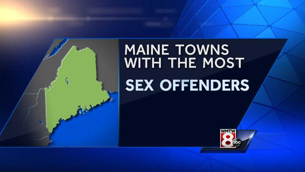 Take a look at the Maine towns with the most registered sex offenders, according to information from the Maine Sex Offender Registry. Numbers were updated as of Feb. 20, 2015.