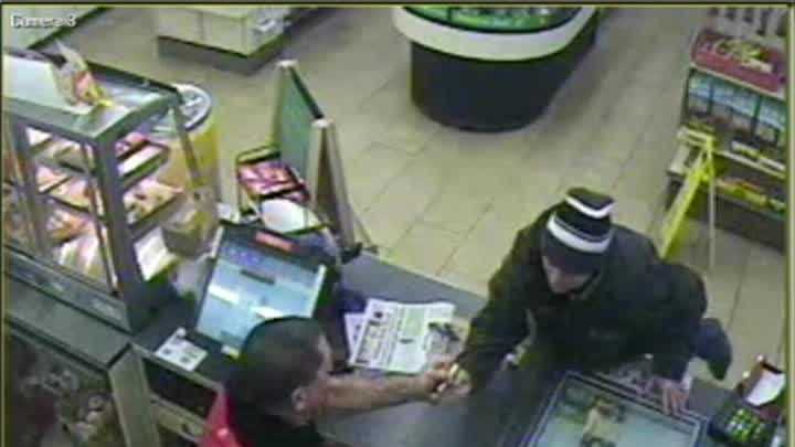 Portland Police have released this video of an attempted robbery at the 7 Eleven on Washington Avenue.
