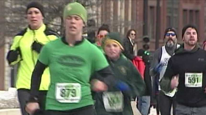Sunday's Irish Road Rover 5K benefited Habitat for Humanity of Greater Portland.
