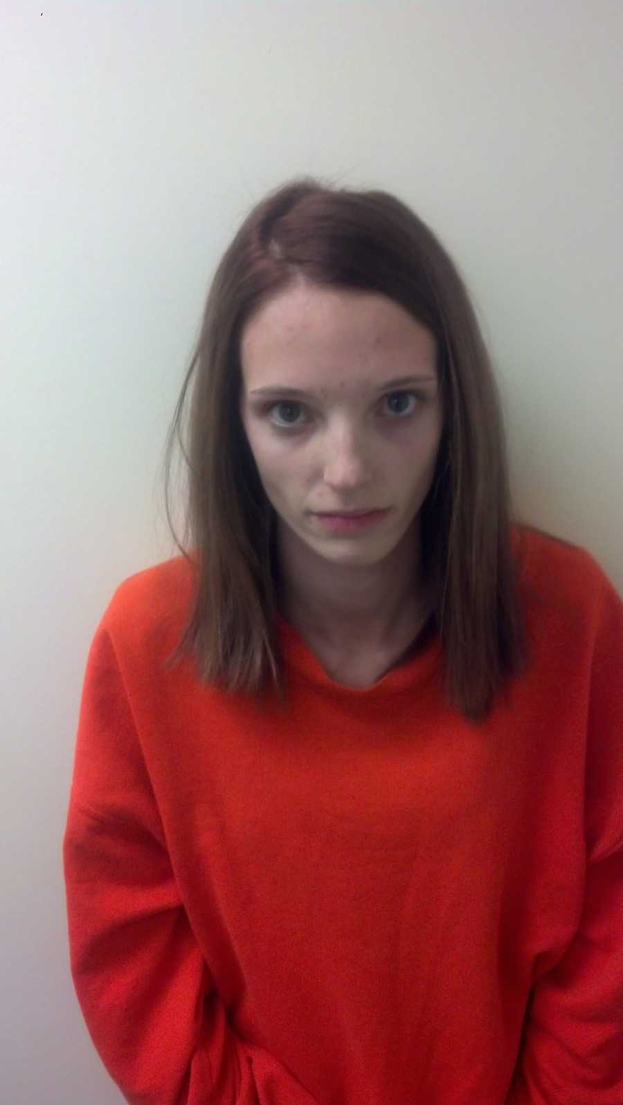 Amber Meserve is charged with 5 counts of Burglary of a Dwelling, 17 counts of Theft of a Firearm, 4 counts of Theft by Unauthorized Taking or Transfer.