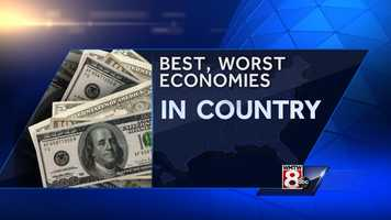 The Maine economy has been ranked among the worst in the country, according to Business Insider. See which state has the best economy.