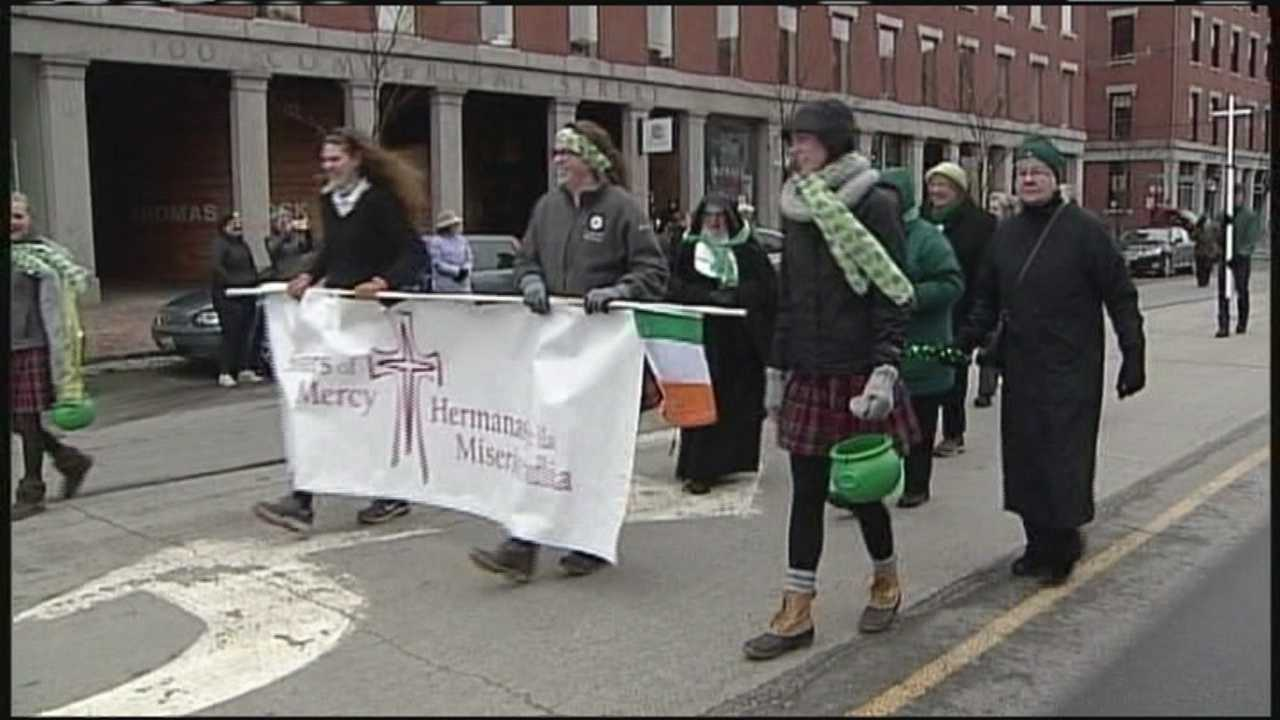 Portland's St. Patrick's Day Parade celebrates a special anniversary at the Portland Diocese.