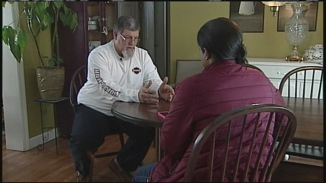 Ed Baggs' daily commute over the Piscataqua River Bridge changed forever Sunday when he spotted a woman in need of help.