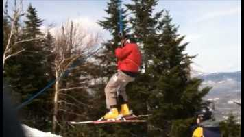 Seven people were hurt in a chairlift accident at Sugarloaf Mountain involving the King Pine lift. (Video: Doug Alpert)