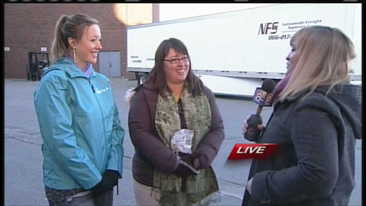 Last year, 500 volunteers were able to pack more than 100,000 meals to feed 298 children twice a day. Sunday, 1,000 volunteers hope to double that effort with a one day of goal of packing one million meals. WMTW News 8's Morgan Sturdivant has more on Sunday's Million Meals Maine event at Deering High School in Portland.